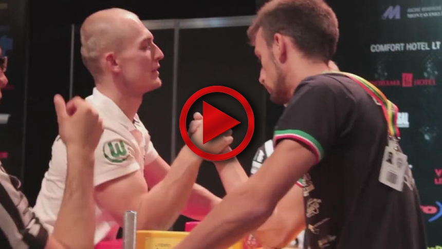 World Armwrestling Championship 2014, day 4, eliminations (16) # Armbets.tv